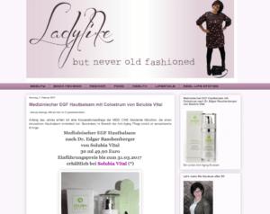 Eva Binder bloggt ladylike