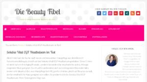 Anja, SOLUBIA VITAL und die Beauty Fibel