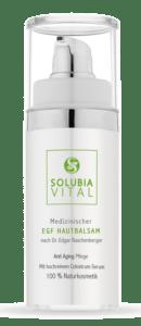SOLUBIA VITAL Kosmetik mit Wachstumsfaktoren EGF Serum