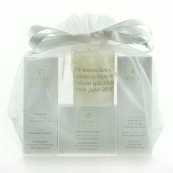 Weihnachts-Set EGF Serum EGF Gesichtscreme EGF Hautbalsam