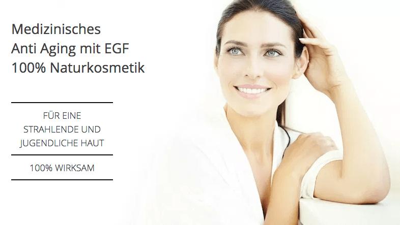EGF Serum - Wachstumsfaktoren Kosmetik von SOLUBIA VITAL