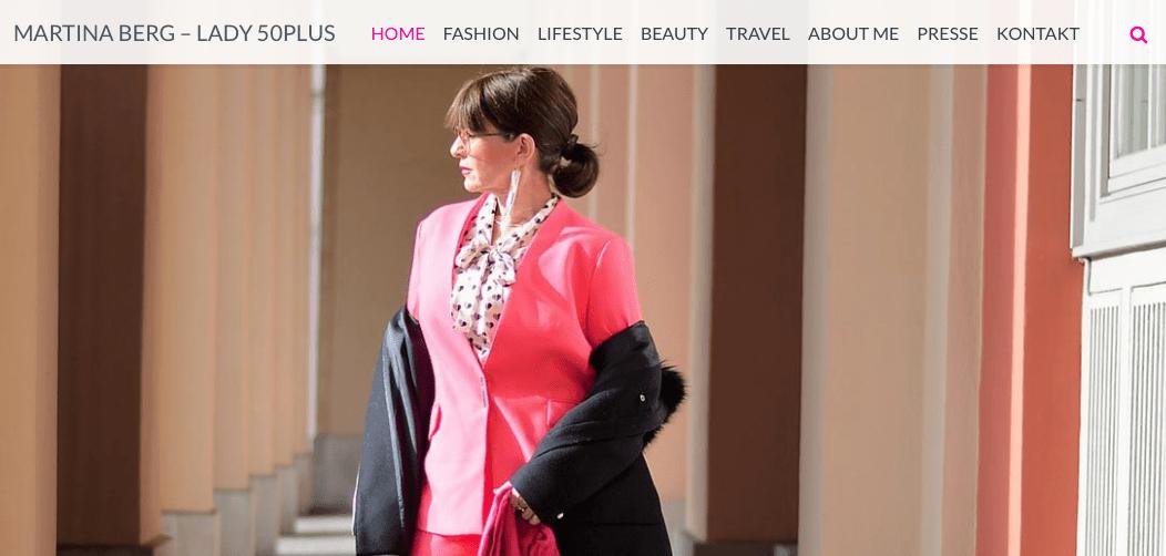 Martina Berg schreibt in ihrem Blog Lady 50plus über SOLUBIA VITAL