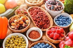 Gesunde Ernährung für ein gutes Hautbild.