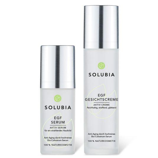 SOLUBIA EGF Set - Serum und Gesichtscreme