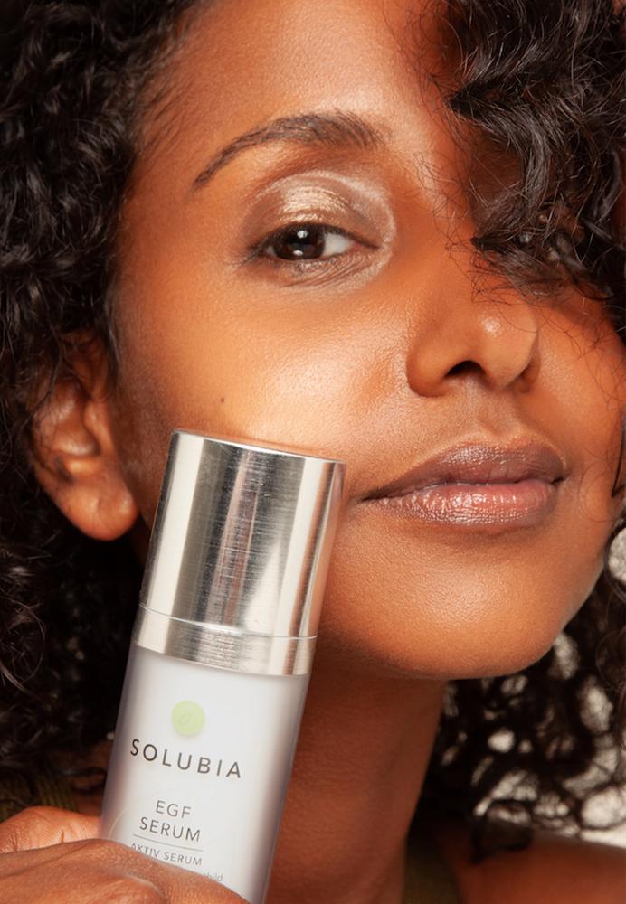 SOLUBIA EGF Kosmetik mit Wachstumsfaktoren