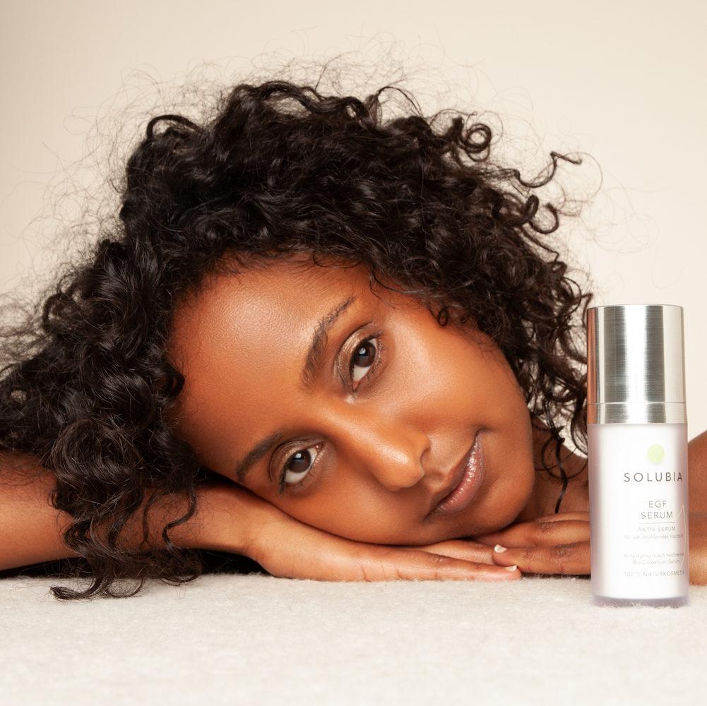 EGF Hautpflege gegen Atrophische Haut