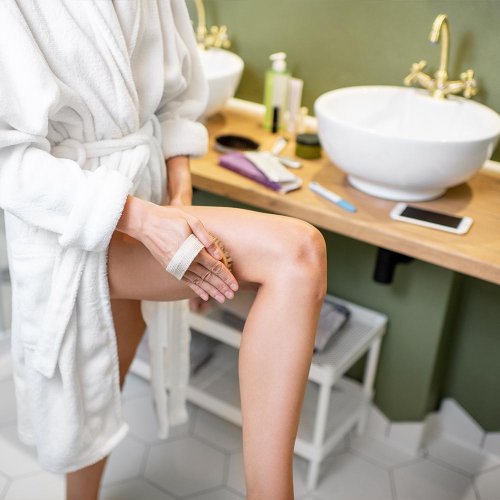Massage Bürsten gegen Cellulite