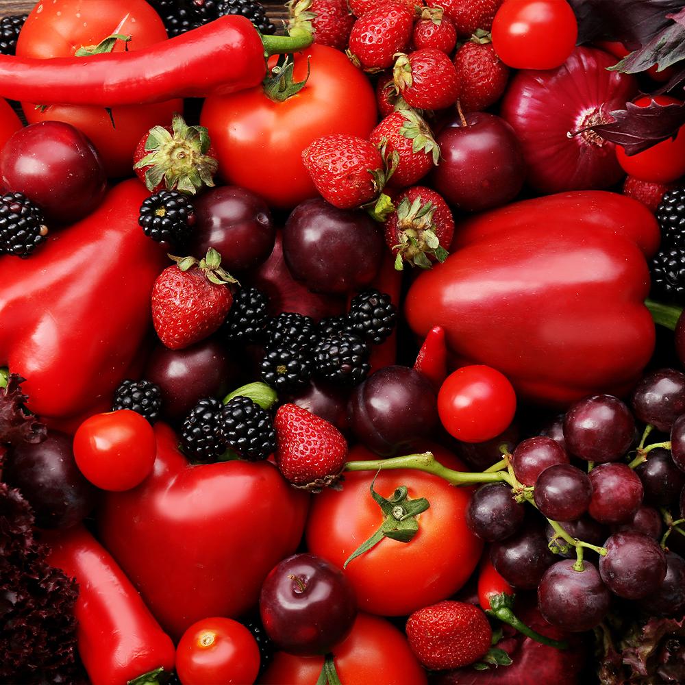 Rotes Gemüse fördert die Kollagenbildung